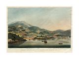 Hobart Town, on the River Derwent, Van Diemens Land Giclee Print by William John Huggins