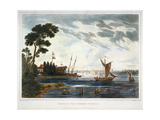 Norfolk from Gosport, Virginia Giclee Print by Joshua Shaw