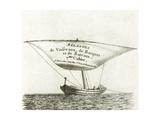 Bateau De Cadix Appele Laou Fesant Peche 1800 Giclee Print by Pierre Ozanne