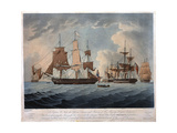 The Morning after the Action with the American United States Frigate, President Giclee Print by Thomas Buttersworth