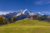 Germany, Bavaria, Upper Bavaria, Werdenfelser Land, Wetterstein Range Photographic Print by Udo Siebig