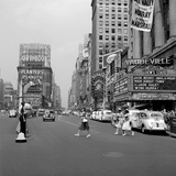 Busy Time Square Photographic Print by Edwin Levick