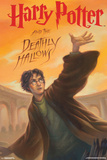 Harry Potter And The Deathly Hallows- Book Art Cover Prints