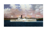 American Steam Boat Jesse Hoyt Giclee Print by James Bard