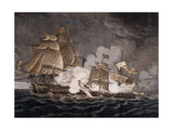 The Little Belt Sloop of War Ca. 1811 Giclee Print by William Elmes