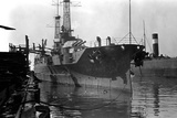 Starboard Bow View of the Uss Pennsylvania (BB-38) Photographic Print