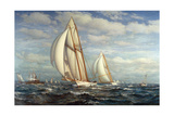 Yachting on Long Island Sound Giclee Print by James Gale Tyler