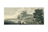 A View at Anamooka - Society Islands Giclee Print by John Webber