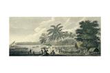 A View at Anamooka - Society Islands Giclee Print by John Webber