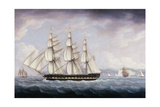 The London Off the Seven Sisters Giclee Print by Thomas Buttersworth