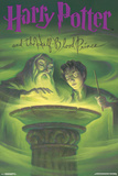 Harry Potter And The Half Blood Prince- Book Art Cover Posters