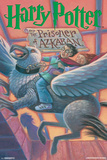 Harry Potter And The Prisoner Of Azkaban- Book Art Cover Print