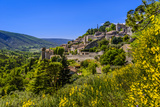 France, Provence, Vaucluse, Bonnieux, View of the Village Photographic Print by Udo Siebig