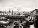 South Street Harbor 1895 Photographic Print by J. S. Johnston