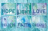 Hope Love Light Prints