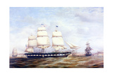 Frank Pierce Arriving Off Prince's Dock, Liverpool, 1853 Giclee Print by Duncan Mcfarlane