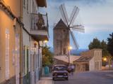 Spanien, Balearen, Insel Mallorca, Llubi, H-Userreihe, M-Hle, Auto Photographic Print by Klaus Siepmann
