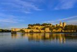 France, Provence, Vaucluse, Avignon, Rh™ne Shore Photographic Print by Udo Siebig
