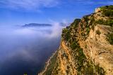 France, Provence, Bouches-Du-Rh™ne, Riviera, Cassis, Route Des Cržtes, View to the West Photographic Print by Udo Siebig