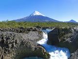 South America, Chile, Patagonia, Petrohue National Park, Volcano Osorno Photographic Print by Chris Seba