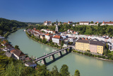 Germany, Bavaria, Upper Bavaria, Inn-Salzach, Burghausen Photographic Print by Udo Siebig