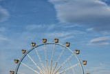 Frankfurt on the Main, Hesse, Germany, Ferris Wheel at the Frankfurt Spring Fair Dippemess Photographic Print by Bernd Wittelsbach