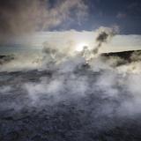 Hot Springs (Geothermal) Close Gunnuhver (Island), Reykjanes (Headland), Iceland Photographic Print by Rainer Mirau