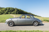 Breuberg, Hessen, Germany, Jaguar Mk 2, Year of Manufacture 1961, Cubic Capacity 3.8 L, 220 Hp Photographic Print by Bernd Wittelsbach