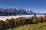 Germany, Bavaria, Upper Bavaria, Werdenfelser Land (Region), Wettersteingebirge (Mountains Photographic Print by Udo Siebig