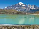 South America, Chile, Patagonia, Torres Del Paine National Park, Mountain Landscape Photographic Print by Chris Seba