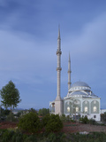 Mosque in Manavgat, Turkey Photographic Print by Rainer Mirau