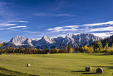 Germany, Bavaria, Upper Bavaria, Werdenfelser Land (Region), Alpenwelt Karwendel (Mountain Region Photographic Print by Udo Siebig
