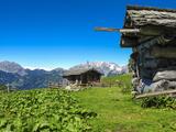 Austria, Tyrol, East Tyrol, Alp, Alpine Huts Photographic Print by Gerhard Wild