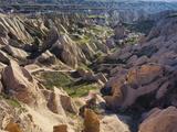 Tuff Stone Erosion in the Rose Valley Close Gšreme, Cappadocia, Anatolia, Turkey Photographic Print by Rainer Mirau