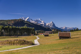 Germany, Bavaria, Upper Bavaria, Werdenfelser Land, Alpenwelt Karwendel Photographic Print by Udo Siebig