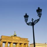 Germany, Berlin-Mitte, Brandenburg Gate, Westseite, Detail Photographic Print by  Philochrome