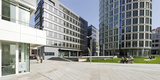 Modern Architecture, Office Buildings, International Coffee Plaza, Hafencity, Hamburg Photographic Print by Axel Schmies