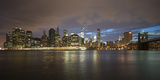 Long-Exposure Photography, View at Manhattan, New York, Usa Photographic Print by Benjamin Engler