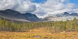 Norway, Rondane National Park, Mountain Landscape Photographic Print by Rainer Mirau