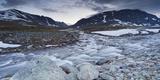 Norway, Sšr-Tršndelag, Trollheimen, Blahša, Gravbekken Photographic Print by Rainer Mirau