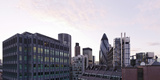 City View with Swiss-Re-Tower of Architect Sir Norman Foster, 30 St. Mary Axe, England Photographic Print by Axel Schmies