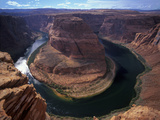 USA, Arizona, Glen Canyon, Page, Colorado River, Horseshoe Bend Photographic Print by Udo Siebig