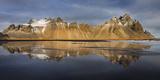 Stokksnes (Headland), Hornsvik (Lake), East Iceland, Iceland Photographic Print by Rainer Mirau