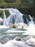 Mountain Brook, Waterfalls Photographic Print by  Thonig