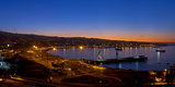 South America, Chile, Pacific Coast, Valparaiso, Harbour Bay, Evening Mood Photographic Print by Chris Seba
