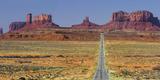Stagecoach, Brighams Tomb, Road 163, Monument Valley, Navajo Tribal Park, Utah, Usa Photographic Print by Rainer Mirau