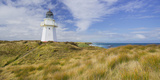 Waipapa Lighthouse, Catlins, Southland, South Island, New Zealand Photographic Print by Rainer Mirau