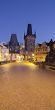 Czechia, Prague, Charles Bridge, City Gate Photographic Print by Rainer Mirau