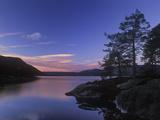 Norway, Telemark, Nisser Lake, Daybreak Photographic Print by Andreas Keil