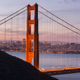 Golden Gate Bridge, San Francisco, California, Usa Photographic Print by Rainer Mirau
